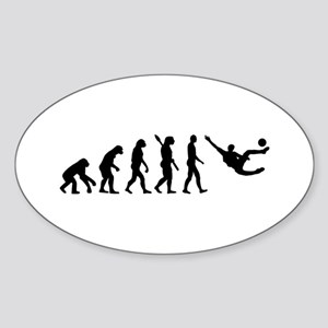 Evolution soccer Sticker (Oval)